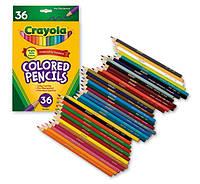 Цветные карандаши Крайола CRAYOLA Colored Pencils 36 шт.