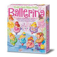 Набор для творчества 4M Магниты из гипса Балерины (00-03527), фото 1