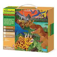 "3D-пазл 4M ""Динозавры"" (00-04668), фото 1"