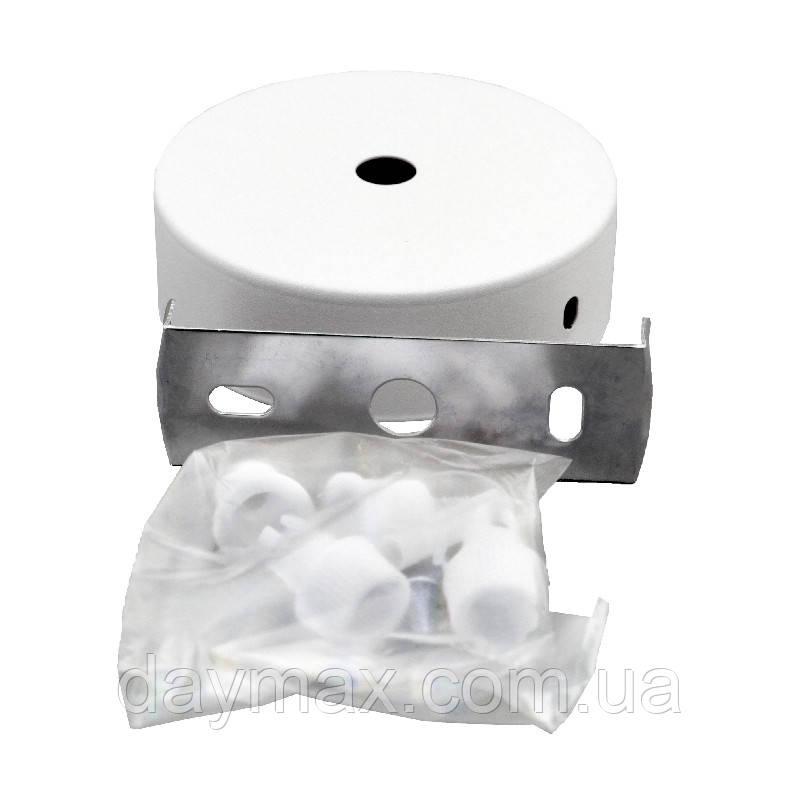 ElectroHouse стельове Кріплення для спрямованого світильника біле