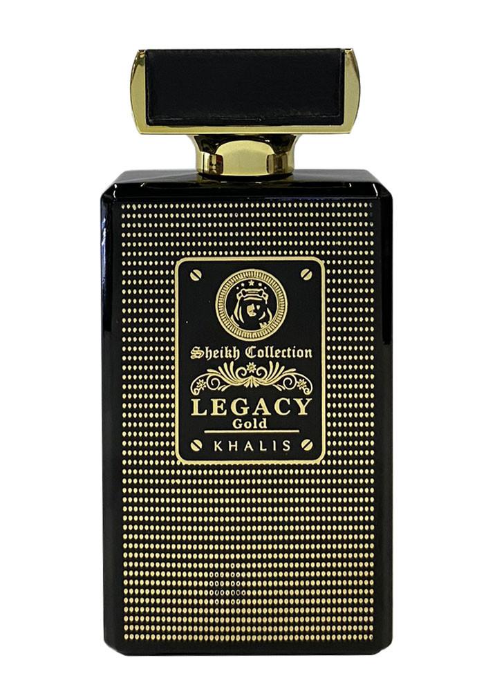 Парфюмированная вода для мужчин  KhalisSheikh Collection  Legacy Gold 100 мл