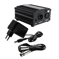 Фантомное питание для микрофона 220В с XLR кабелем