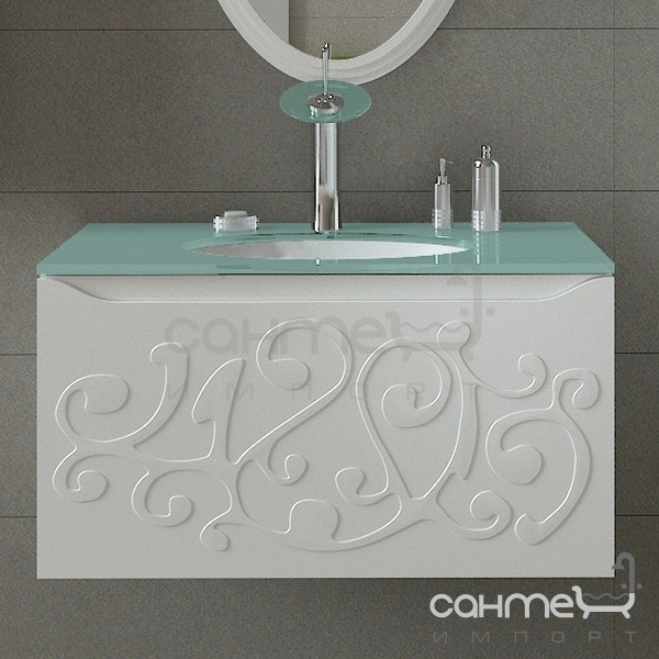 Мебель для ванных комнат и зеркала Marsan Тумба подвесная без раковины Marsan Marsel 900 белый