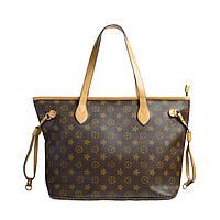 Брендовая женская сумка Louis Vuitton Луи Виттон коричневая