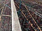 Ковер мультиколор RAINBOW 14 COLORS 4110a 1,6Х2,3 Черный прямоугольник, фото 2