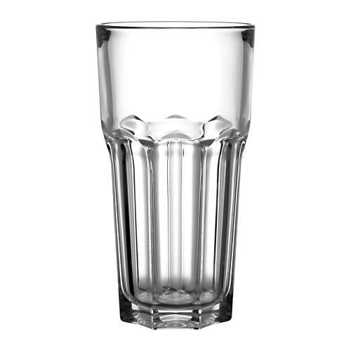 ИКЕА (IKEA) ПОКАЛ, 304.126.41, Стакан, прозрачное стекло, 65 сл - ТОП ПРОДАЖ