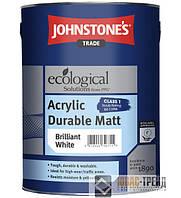 Johnstones ТМ Acrylic Durable Matt Emulsion (Джонстоун ТМ Дюрабле Матт) Акриловая  стойкая матовая краска 10 л