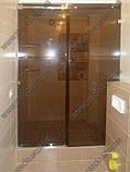 Душевые перегородки из стекла с раздвижной дверью, фото 3