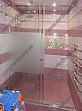 Душевые перегородки из стекла с раздвижной дверью, фото 5