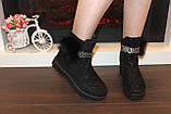 Ботинки женские черные Д475, фото 3