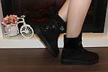 Ботинки женские черные Д475, фото 5