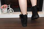 Ботинки женские черные Д475, фото 6