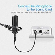 Микрофонный кабель Ugreen AV130 XLR Male to Female Microphone Cable (Черный, 1м), фото 2