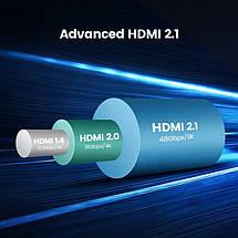 HDMI кабель V2.1 Ugreen HD135 с поддержкой 8K-60 Гц / 4K-120 Гц (1м), фото 3