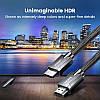 HDMI кабель V2.1 Ugreen HD135 с поддержкой 8K-60 Гц / 4K-120 Гц (1м), фото 2