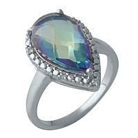 Серебряное кольцо DreamJewelry с натуральным мистик топазом (2004936) 17 размер, фото 1