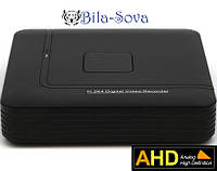 Видеорегистратор TCL-801AHD (802AHD) гибридный, 8 каналов (IP, аналоговые, AHD камеры), Real Time 1080P,Tesla