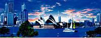 """3Д светящиеся обои """"Сидней"""" 135/348см."""