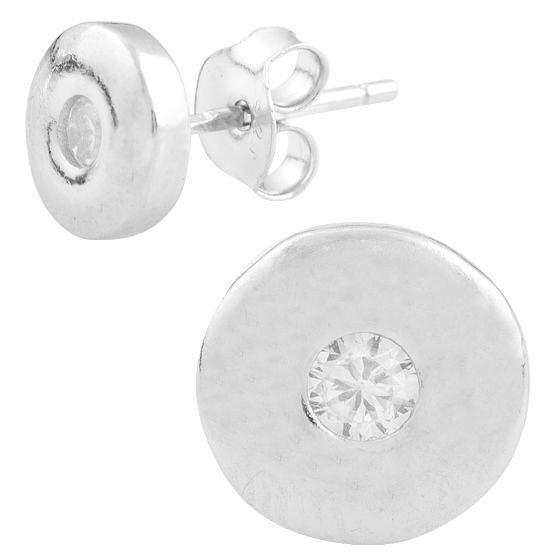 Серебряные серьги DreamJewelry с фианитами (1560969)