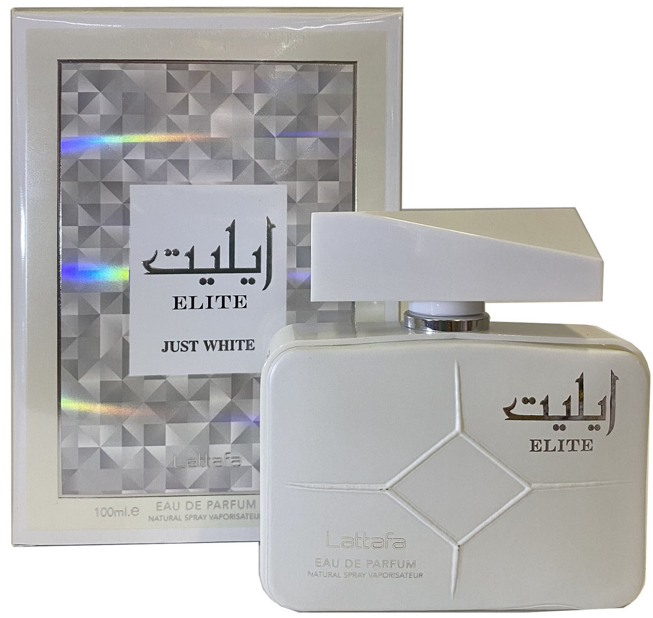 Парфюмированная вода для мужчин Lattafa Elite Just White 100 мл