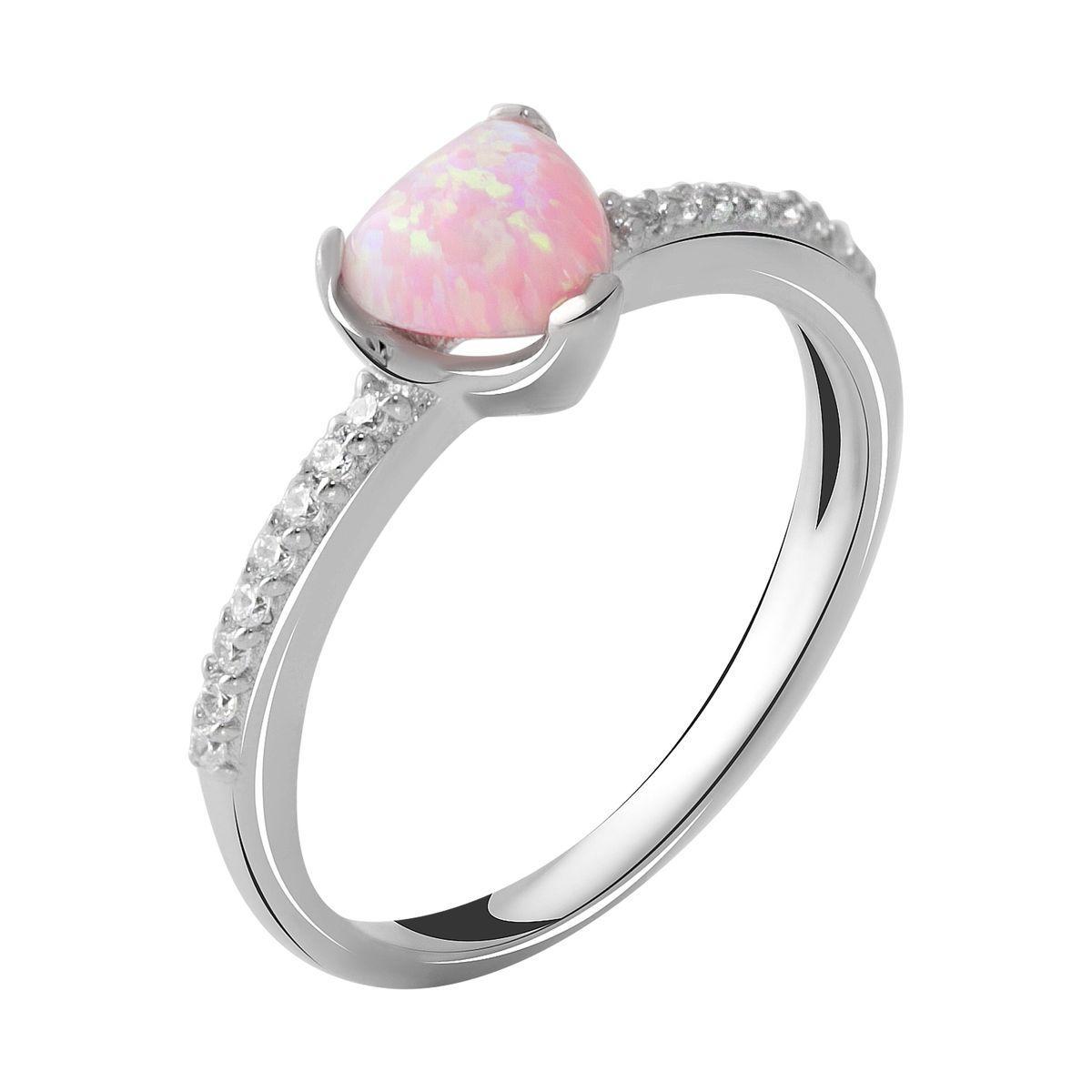 Серебряное кольцо DreamJewelry с опалом 0.55ct (2044970) 18 размер