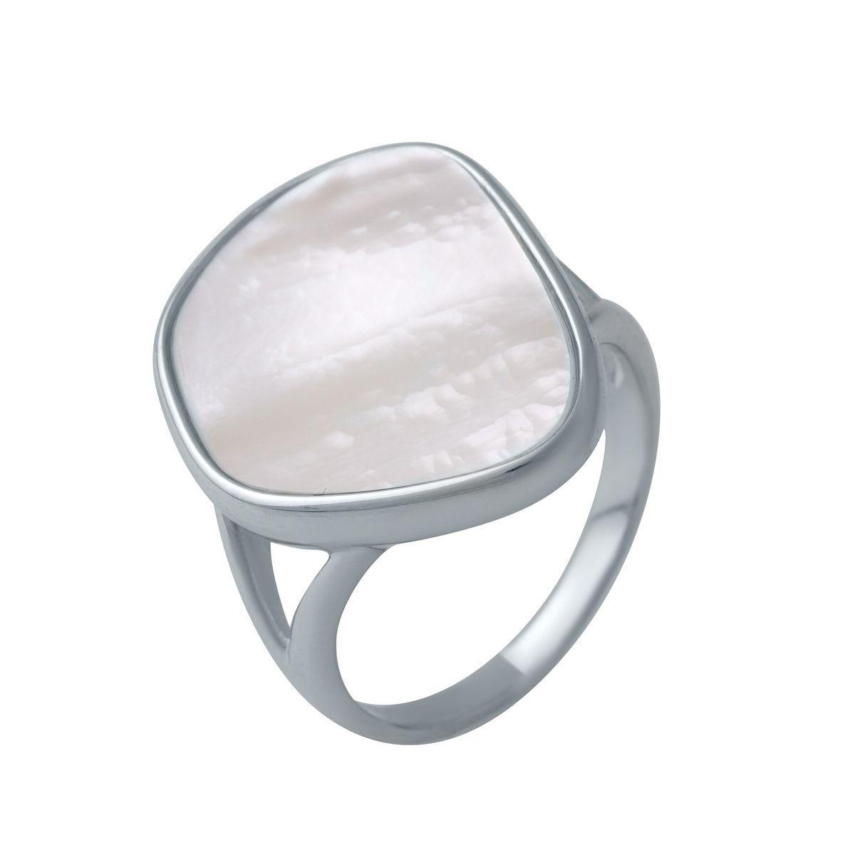 Серебряное кольцо DreamJewelry с натуральным перламутром (2046868) 18.5 размер