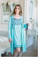 Халат женский Shato -  702/1 (женская одежда для сна, дома и отдыха, домашняя одежда, ночная)