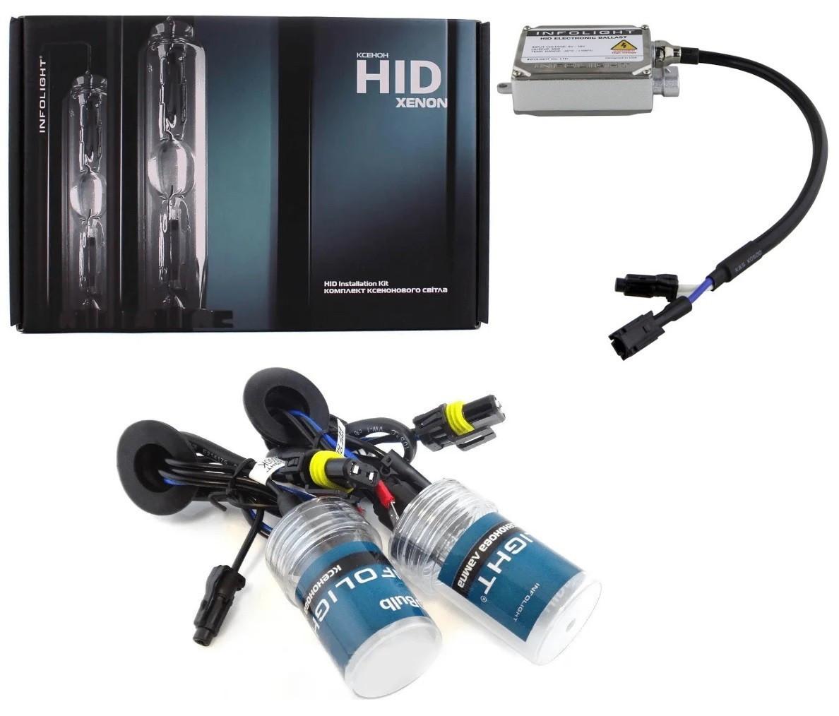 Комплект ксенонового світла Infolight HB3(9005) 5000K 35W