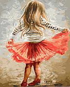 Картина по номерам BrushMe Маленькая кокетка 40*50 см (в коробке) арт.BRM9256