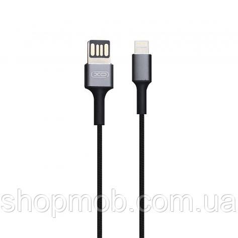USB XO NB116 Lightning Колір Чорний, фото 2