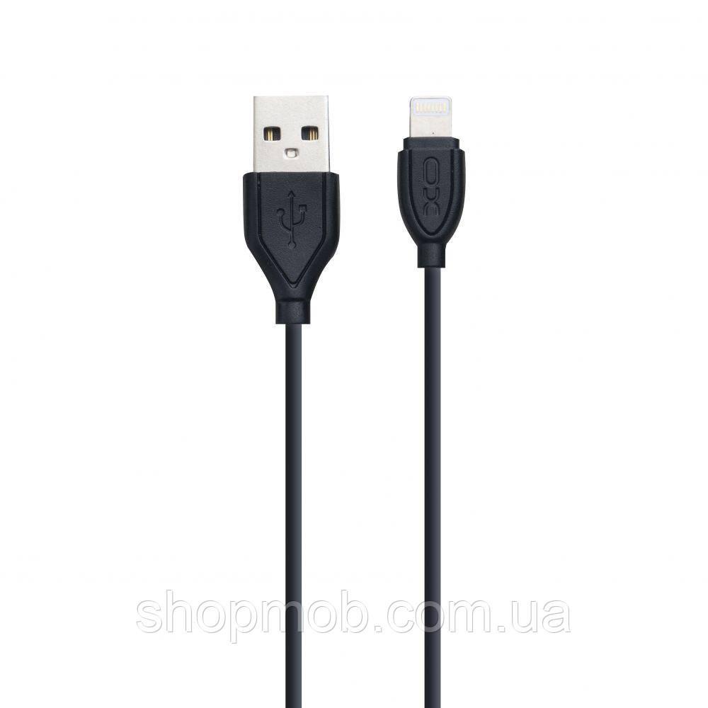 USB XO NB8 Lightning Цвет Чёрный