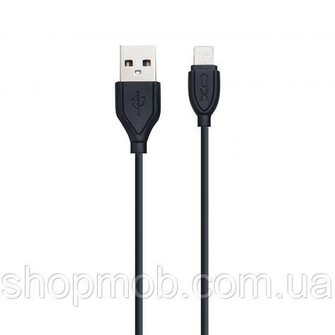 USB XO NB8 Lightning Цвет Чёрный, фото 2