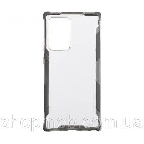 Чехол Armor Case Color Clear for Samsung Note 20 Plus Цвет Серый, фото 2