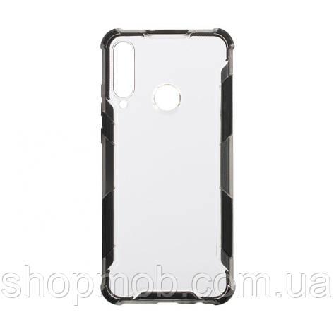 Чехол Armor Case Color Clear for Huawei Y6P Eur Ver Цвет Чёрный, фото 2