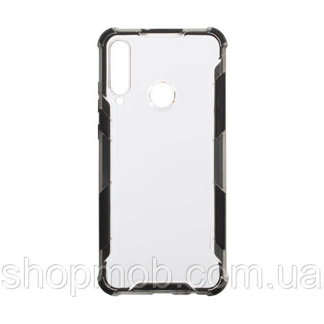 Чохол Armor Case Clear Color for Huawei Y6P Eur Ver Колір Чорний, фото 2