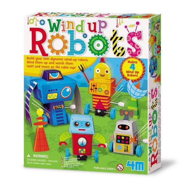 Игровой набор 4M Заводные роботы (00-04655)
