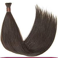 Натуральные славянские волосы в срезе 55-60 см 100 грамм, Шоколад №02