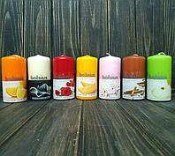 Ароматическая свеча цилиндр d6 h12 см (разные ароматы)