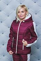Замечательный теплый зимний женский костюм, модный коплект на зиму для женщин, яркая зимняя одежда