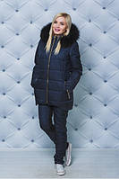 Стройный стильный красивый женский зимний спортивный костюм , модный комплект для женщин на зиму