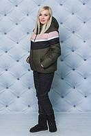 Хороший стильный зимний женский костюм, удобный коплект на зиму для женщин, модная зимняя одежда