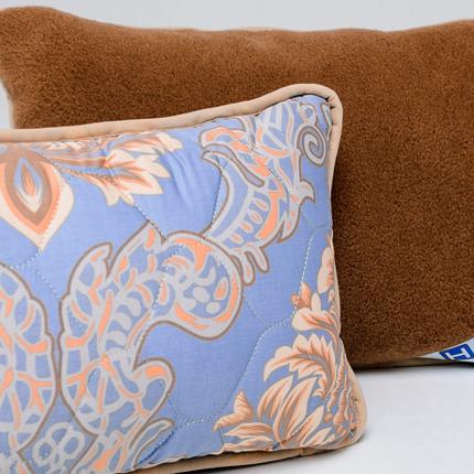 Подушка з вовни Верблюда з сатином Hilzer 40х40 см, фото 2