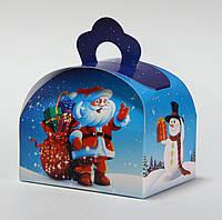 НОВИНКА Новогодняя упаковка  Сундучок 100-150 г. Дед мороз.