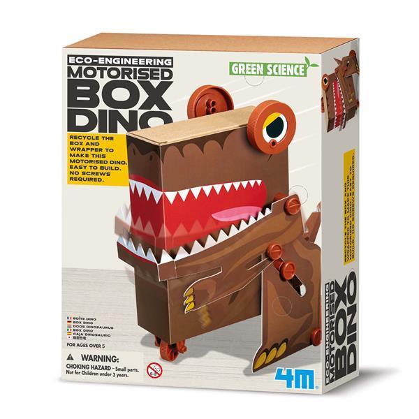 Робот-динозавр из коробки Экоинженерия 4M (00-03387)