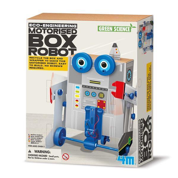 Набір для творчості 4M Робот з коробок (00-03389)