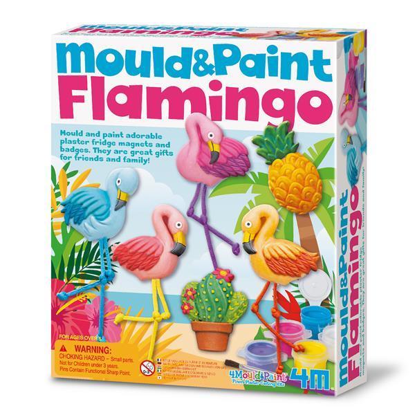 Набор для творчества 4M Магниты из гипса Фламинго (00-04736)