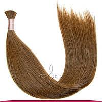 Натуральные славянские волосы в срезе 55-60 см 100 грамм, Шоколад №06
