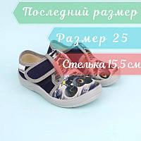 Текстильные туфли для мальчика Монстр Трак тм Waldi размер 25, фото 1