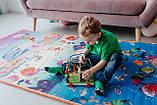 """Детский развивающий термо коврик скручивающийся 1800*1500*5мм """"Животные+Аквариум"""" , фото 7"""