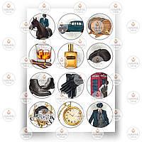 Печать съедобного фото - Вафельная бумага - Мужчинам №2